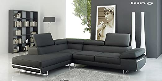 Calia Maddalena-King sofá de esquina, Microfiber Fabric Green, Armchair - 140cm