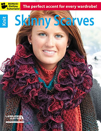 Knit Skinny Scarves: The Perfect Accent for Every Wardrobe!