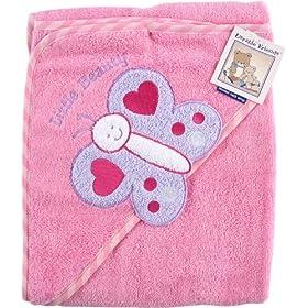 Luvable Friends Super-soft Hooded Bath Wrap
