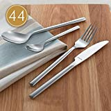 Amefa Monogram Premium Carlton Cutlery Set Stainless Steel 44 Piece