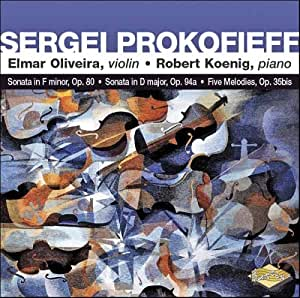Prokofieff Sonatas for Violin