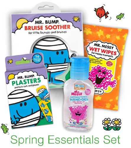 Mr Men Spring Essentials Set
