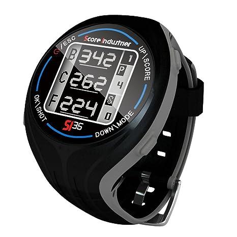 Score Industries 55551 SI 35 Montre GPS de golf Noir