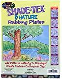 Melissa & Doug Shade-Tex Rubbing Plates - Nature Set