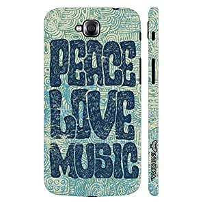 LG G Pro Lite Dual Peace Love Grunge designer mobile hard shell case by Enthopia