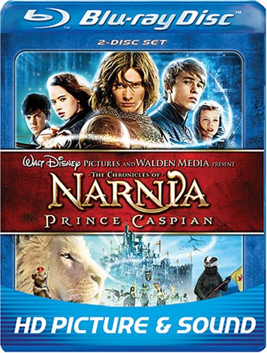 The Chronicles of Narnia: Prince Caspian (Two Disc Edition + BD-Live)  [Blu-ray]