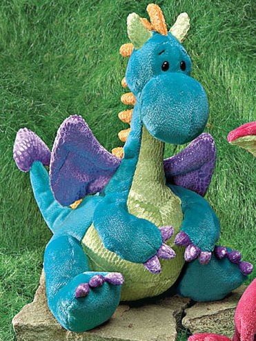 Jiggy Plush Dragon from Gund, 8 Inches - Buy Jiggy Plush Dragon from Gund, 8 Inches - Purchase Jiggy Plush Dragon from Gund, 8 Inches (Gund, Toys & Games,Categories,Stuffed Animals & Toys,Animals)