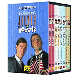 The Complete P.G. Wodehouse's Jeeves & Wooster (8 DVDs)