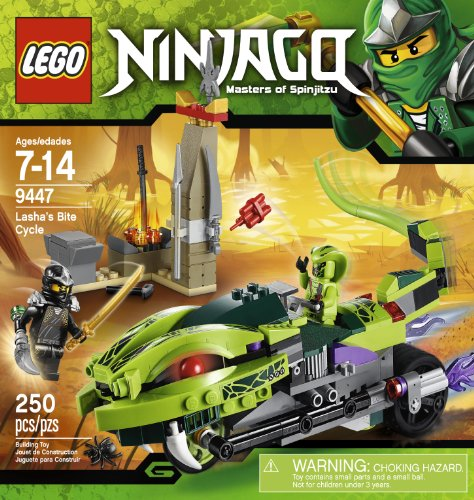 LEGO Ninjago 9447 Lasha's Bite Cycle - 1