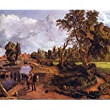 The Museum Store - The House Of The Admiral In Hampstead By John Constable - A Fine Art Print - 11 X 14 Inches...