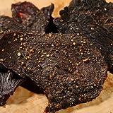 Barren Creek Beef Jerky-Cracked Black Pepper Flavor-Perfect Gift For Jerky Fans-Premium Beef Jerky-High Protein Genuine Beef Jerky-(8oz Bag)