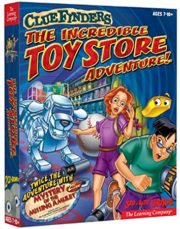 Cluefinders: The Incredible Toy Store Adventure