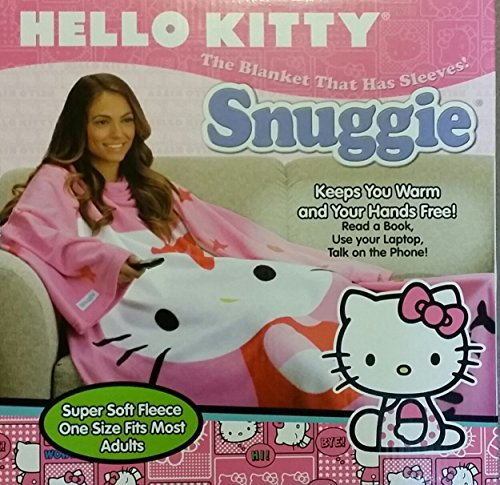 Buy Bargain Pink Adult Hello Kitty Snuggie 2014