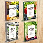 Gardening Books - 4 Manuscripts - Square Foot Gardening Guide, Gardening: A Beginners Guide, Straw Bale Gardening, Hydroponics Beginners Gardening Guide | Simon Hamilton