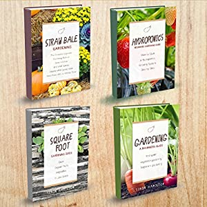 Gardening Books - 4 Manuscripts - Square Foot Gardening Guide, Gardening: A Beginners Guide, Straw Bale Gardening, Hydroponics Beginners Gardening Guide Audiobook