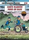 """Afficher """"Les Tuniques bleues. n° 60<br /> Carte blanche pour un bleu"""""""