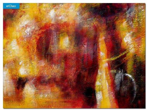 elOleo Abstract – Legacy of Fire IV 80×110 Gemälde auf Leinwand handgemalt 83532A jetzt bestellen