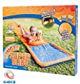 SLIP N SLIDE WATER BLAST WATER SLIDE AQUA KIDS GARDEN WATER SLIDE 18FT MAT by mr.caller