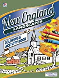 New England Landscapes Coloring and Activity Book