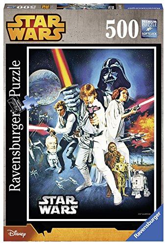 Ravensburger 14662 - Star Wars Guerre Stellari Puzzle, 500 Pezzi