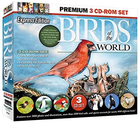 Birds of the World 3 CD-ROM Set (Jewel Case)