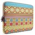 PLEMO Bohemian Style Canvas Fabric 12-12.5 Inch Netbook / Laptop / Notebook Computer Sleeve Case Bag Cover, Sunlight Garden