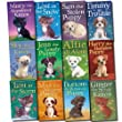 Holly Webb Animal Stories Collection Puppy & kitten 12 Books Set (Timmy in Trouble, Max the Missing Puppy, Sam the Stolen Puppy, Buttons the Runaway, Puppy Harry the Homeless, Puppy Lost in the Storm, Ginger the Stray, Sky the Unwanted Kitten, etc)