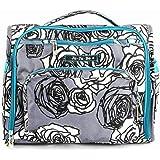 Ju-Ju-Be B.F.F. Messenger Diaper Bag (Charcoal Roses)