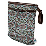 Planet Wise Wet/Dry Diaper Bag, Fiesta