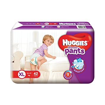 Image result for Huggies Wonder Pants Extra Large Size Diapers (42 Count)