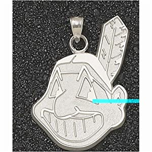 Cleveland Indians Giant 1 1 4 W x 1 7 8 H Chief Wahoo Pendant - 14KT Gold Jewelry by Logo Art