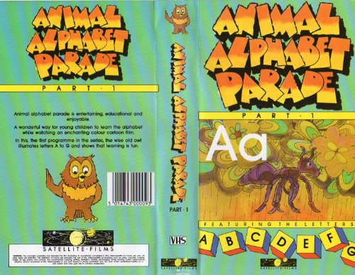Animal Alphabet Parade Part 1 [VHS/PAL Video]