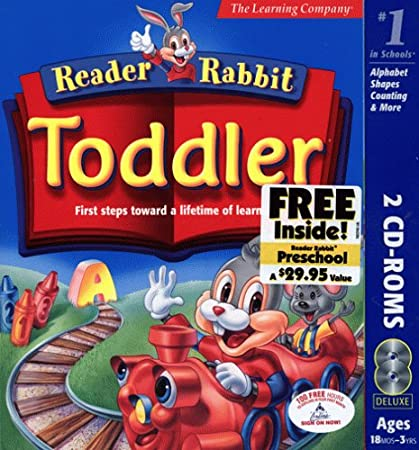 Reader Rabbit Toddler With Free Reader Rabbit Pre-school Inside!  [OLD VERSION]