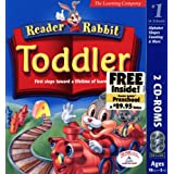 Reader Rabbit Toddler With Free Reader Rabbit Pre-school Inside!  [OLD VERSION] ~ The Learning Company