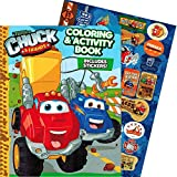 Tonka Chuck & Friends Jumbo Coloring Book with Stickers (144 Pages)
