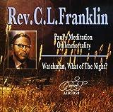 echange, troc Rev Cl Franklin - Paul's Meditation on Immortality / Watchman What