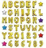 HOPIC 組み合わせ 自由 バルーン 風船 飾り付け イベント 装飾 [ アルファベット ] ( ゴールド:A ) APRiL NiNE 株式会社CLOURIDGE HOPIC-ANGA