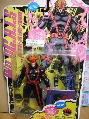 """WildC.A.T.S Spartan 6 1/2"""" Action Figure in ECM Stealth Suit"""