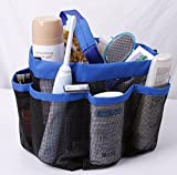Wonerworld Quick Dry Shower Tote With 8 Storage Compartments Bath Organizer Portable Hanging Mesh Shower Caddy
