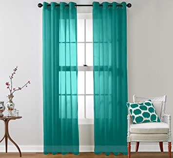 Teal Blue Curtains