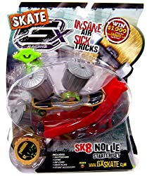 GX Racers Skate SK8 Nollie Stunt Starter Set with Phantomz 62 Deck Plate [Bullet Board]