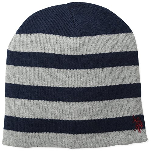 us-polo-assn-mens-striped-reversible-beanie-grey-one-size
