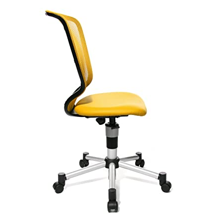 Topstar 71487S19E Titan Junior Kids and Youths Swivel Chair - Yellow