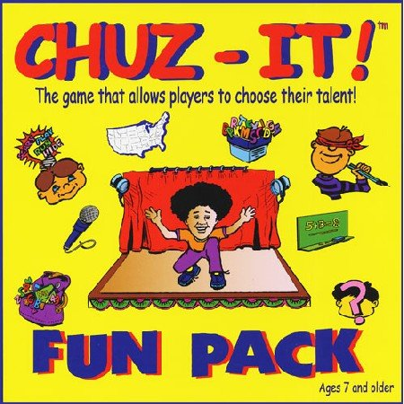 Chuz-It - The Fun Pack! Board Game