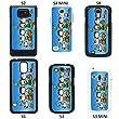 Snoopy Cartoon cover case for Samsung Galaxy S3 Mini i8190 - Black - T834 - Woodstock