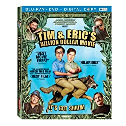 Tim & Eric's Billion Dollar Movie (Blu-ray/DVD/Digital Copy) [Blu-ray]