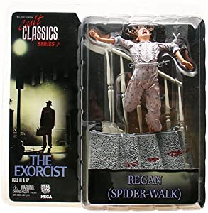 Spider Walk Regan 7 Inch Figure - The Exorcist - Cult Classics 7 - Neca