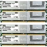 16GB KIT (4 x 4GB) For IBM-Lenovo System Series x3400 (7973-xxx) x3400 (7974-xxx) x3400 (7975-xxx) x3400 (7976-xxx) x3400 (7978-xxx) x3450 (7948-56X) x3450 (7948-58X) x3450 (7948-x2X) x3450 (7948-x5X) x3450 (7948-xBX) x3450 (7948-xxx) x3500 (7977-xxx) x3550 x3550 (1913-xxx) x3550 (7978-xxx) x3650 x3650 (1914-xxx) x3650 (7979-xxx). DIMM DDR2 ECC Fully Buffered PC2-5300 667MHz RAM Memory. Genuine A-Tech Brand. (Tamaño: 16 Gb)