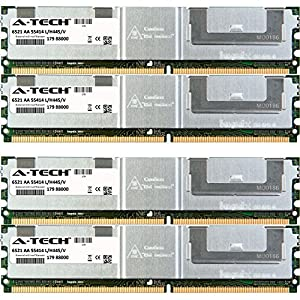 8GB KIT (2 x 4GB) For Gateway E Server Series E-9520T. DIMM DDR2 ECC Fully Buffered PC2-5300 667MHz RAM Memory. Genuine A-Tech Brand.