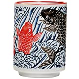 Fish Waves Tea Cup